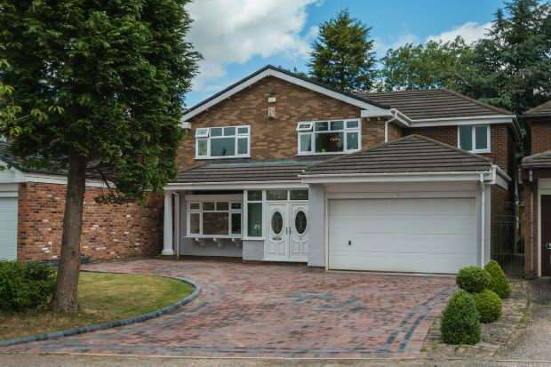 4 Bedrooms Detached House for sale in Wychwood, Bowdon