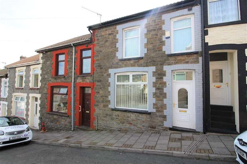 3 Bedrooms Terraced House for sale in Trinity Road, Tonypandy