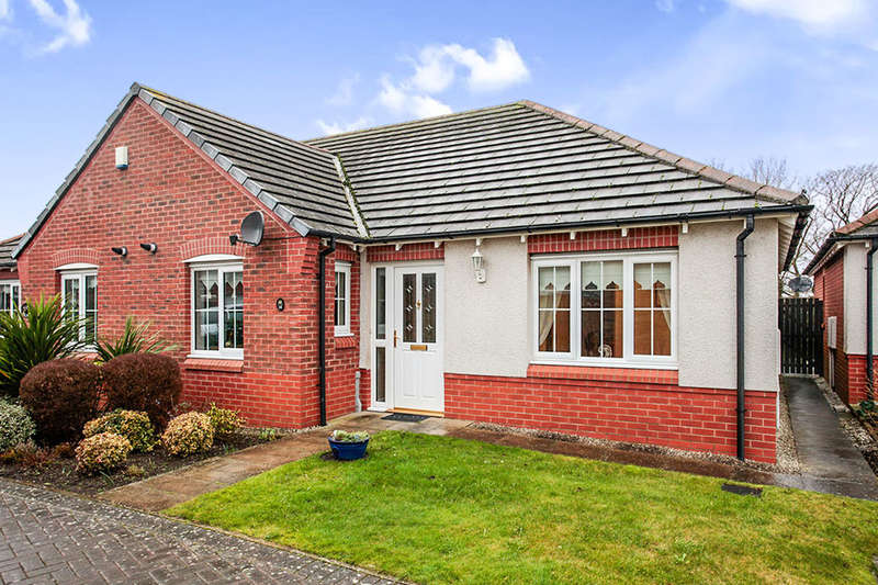 2 Bedrooms Semi Detached Bungalow for sale in Greenrow Meadows, Silloth, Wigton, CA7
