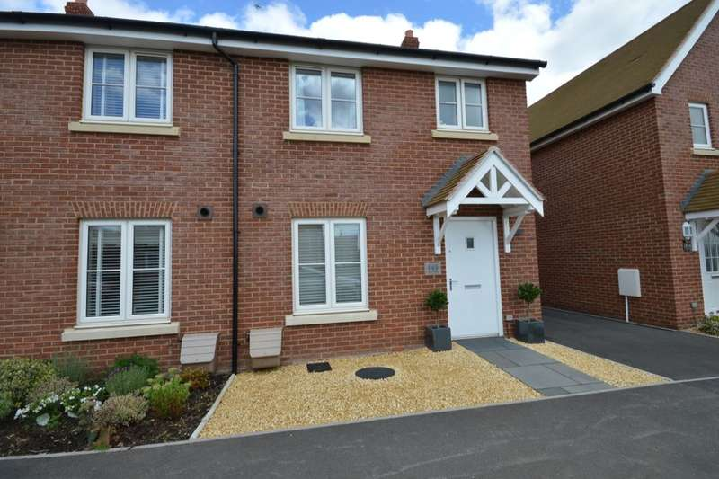 3 Bedrooms Semi Detached House for sale in Cutforth Way, Romsey, SO51