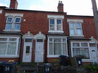 2 Bedrooms Terraced House for sale in Ashbourne Road, Birmingham, West Midlands