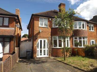 3 Bedrooms Semi Detached House for sale in Nigel Avenue, Northfield, Birmingham, West Midlands