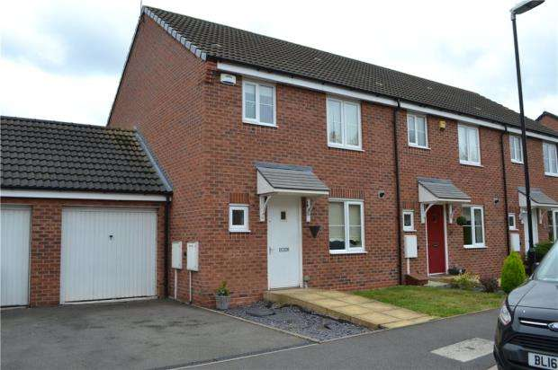 3 Bedrooms End Of Terrace House for sale in Jefferson Way, Bannerbrook Park, Coventry, West Midlands