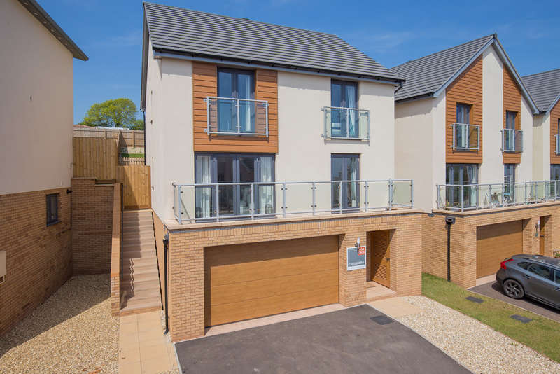 4 Bedrooms Detached House for sale in Amethyst Drive, Teignmouth