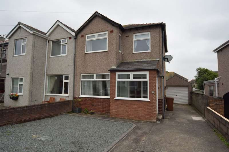 3 Bedrooms Semi Detached House for sale in Strathnaver Avenue, Walney, Cumbria, LA14 3DQ