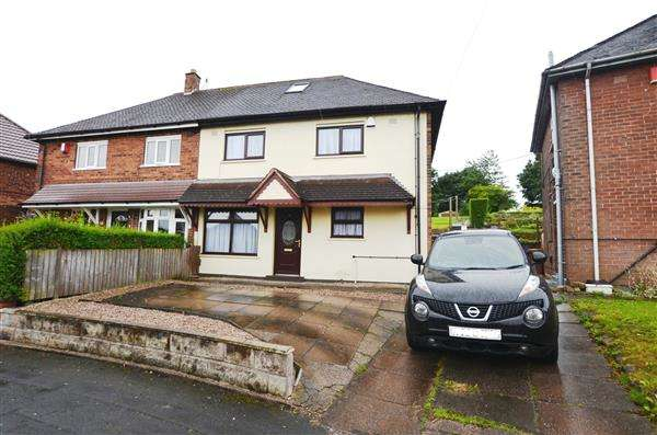 3 Bedrooms Semi Detached House for sale in Greyfriars Road, Abbey Hulton, Stoke-On-Trent