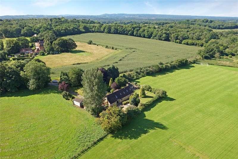 5 Bedrooms Detached Bungalow for sale in Peperharow Lane, Shackleford, Godalming, Surrey, GU8