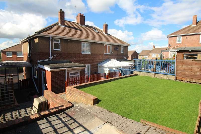 3 Bedrooms Semi Detached House for sale in Garden House Estate, Crawcrook, Ryton, NE40
