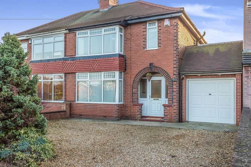 3 Bedrooms Semi Detached House for sale in Swinston Hill Road, Dinnington, Sheffield, S25