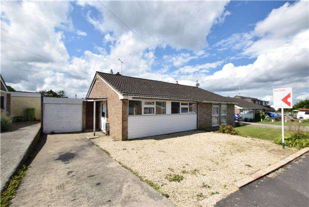 2 Bedrooms Semi Detached Bungalow for sale in Willow Road, Charlton Kings, CHELTENHAM, Gloucestershire, GL53 8PH