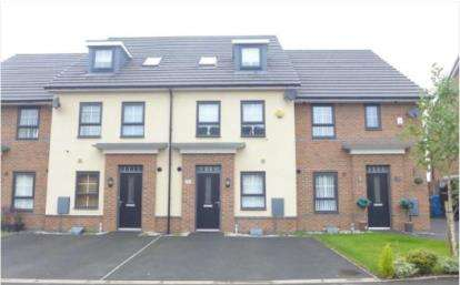 4 Bedrooms Town House for sale in Deanland Drive, Liverpool, Merseyside, L24