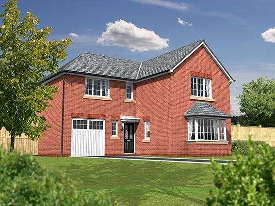 4 Bedrooms Detached House for sale in Plot 18, The Newton, The Limes, Barton, Preston, Lancashire, PR3 5DQ