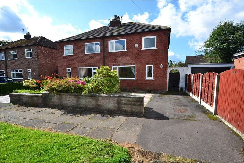 3 Bedrooms Semi Detached House for sale in Cruttenden Road, Great Moor, Stockport SK2 7NB