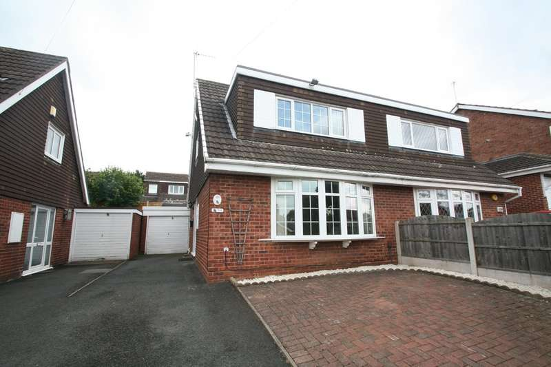 3 Bedrooms Semi Detached House for sale in Blenheim Road, Kingswinford