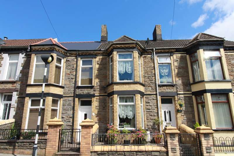 3 Bedrooms Terraced House for sale in Brighton Terrace, Cwm, Ebbw Vale, NP23