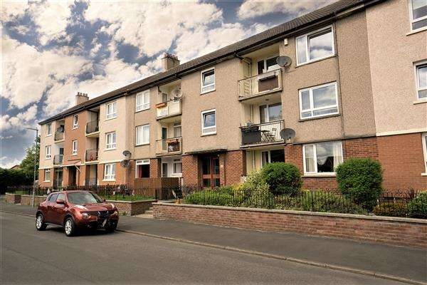 2 Bedrooms Flat for sale in Garscadden Road South, Knightswood