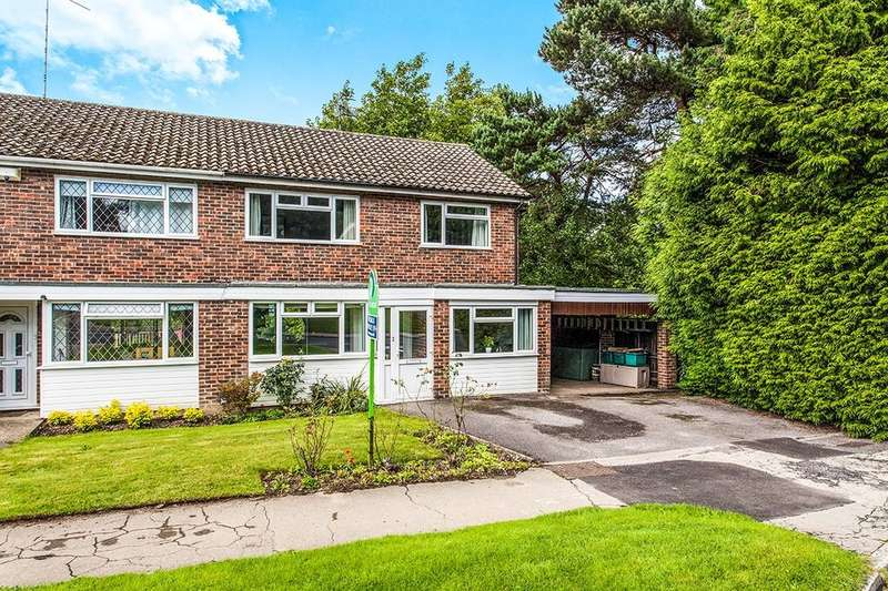 3 Bedrooms Semi Detached House for sale in Forest Way, Pembury, Tunbridge Wells, TN2