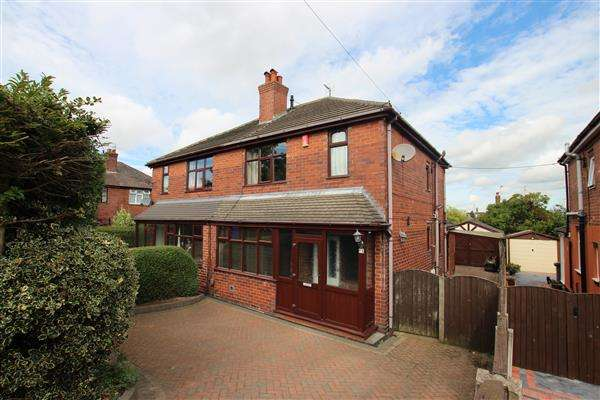 3 Bedrooms Semi Detached House for sale in Moxley Avenue, Sneyd Green, Stoke-on-Trent