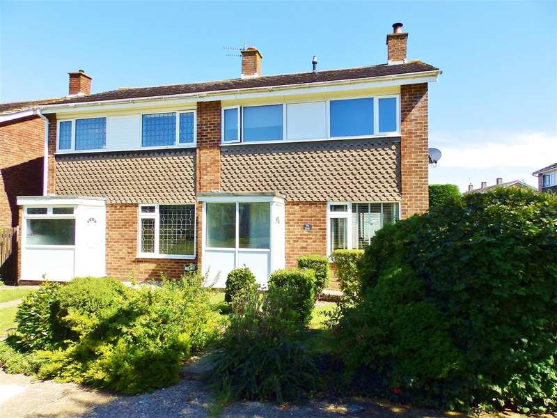 3 Bedrooms Semi Detached House for sale in Oxendean Gardens, Eastbourne