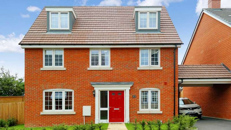 5 Bedrooms Detached House for sale in Copia Crescent, Leighton Buzzard