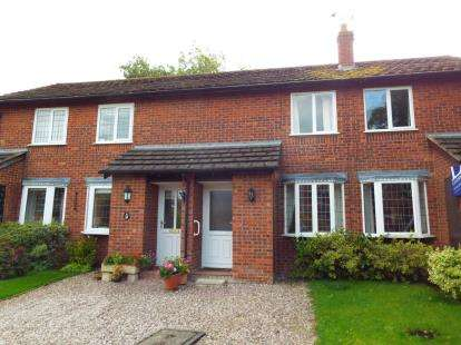 2 Bedrooms Terraced House for sale in Barnston Court, Farndon, Chester, Cheshire, CH3