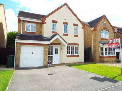 4 Bedrooms Detached House for sale in Germander Way, Bicester, Oxfordshire