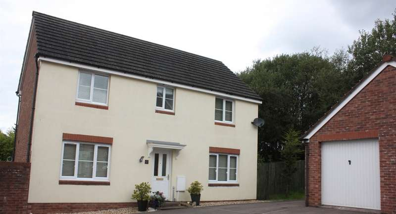 4 Bedrooms Detached House for sale in Marsh Court, Aberbargoed, Bargoed