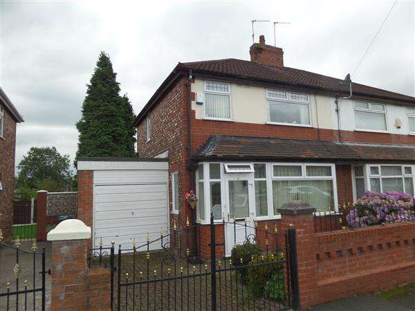 3 Bedrooms Semi Detached House for sale in Hazeldene Road, Manchester