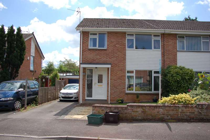 3 Bedrooms Semi Detached House for sale in Dean Drive, Taunton