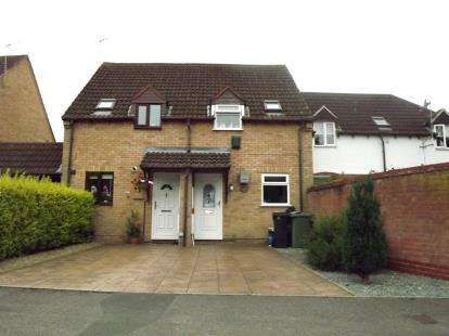 1 Bedroom End Of Terrace House for sale in Millers Dyke, Quedgeley, Gloucester, Gloucestershire