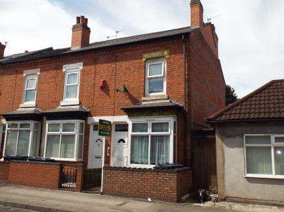 3 Bedrooms End Of Terrace House for sale in Percy Road, Sparkhill, Birmingham