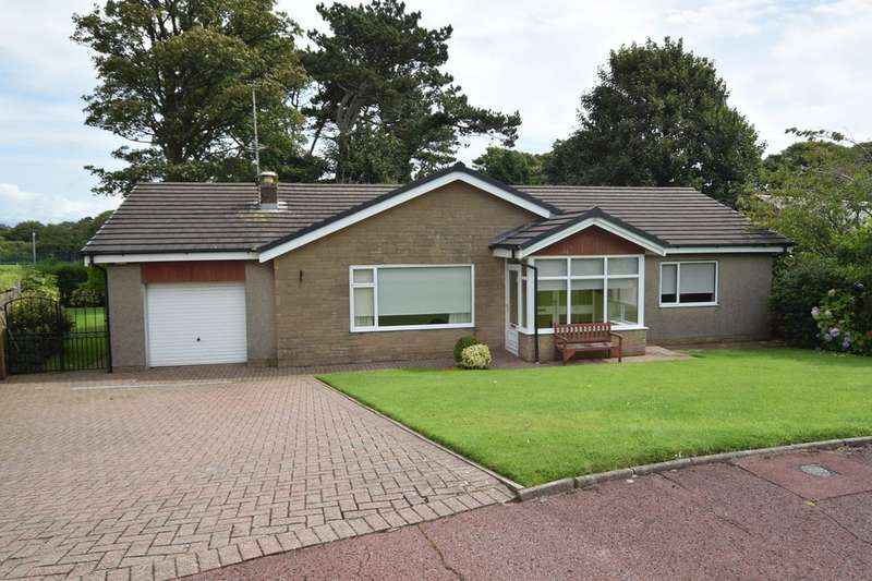 2 Bedrooms Detached Bungalow for sale in Infield Gardens, Barrow-in-Furness, Cumbria, LA13 9JW
