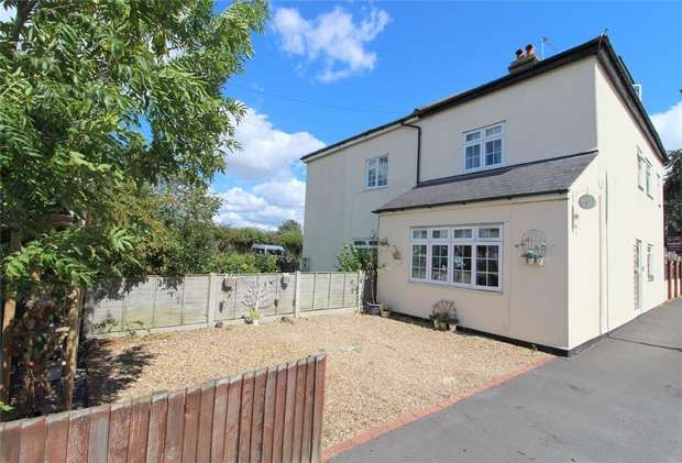 3 Bedrooms Semi Detached House for sale in Chesterfield Road, Ashford, Middlesex