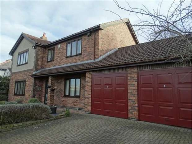 4 Bedrooms Detached House for sale in Mainsforth Road, Ferryhill, Durham