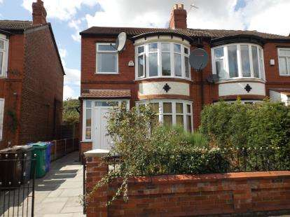 3 Bedrooms Semi Detached House for sale in Kingsway, Manchester, Greater Manchester, Uk