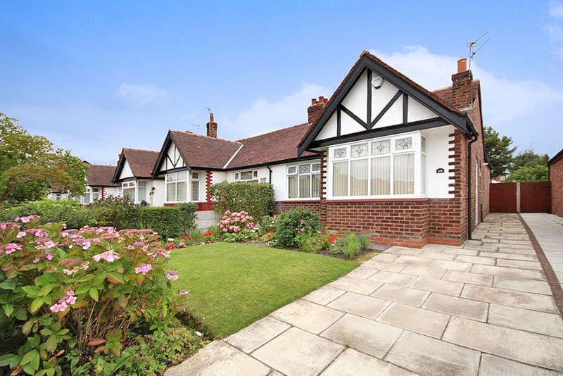 2 Bedrooms Semi Detached Bungalow for sale in Larkfield Lane, Churchtown, Southport