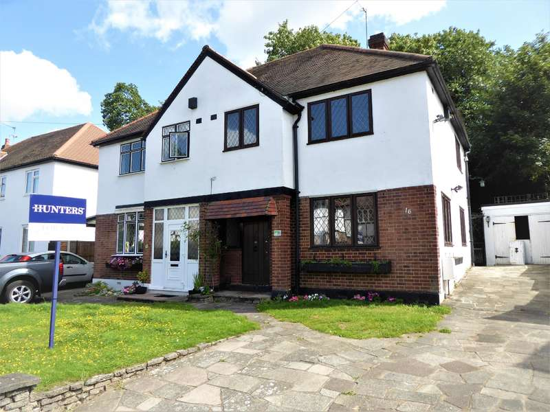 3 Bedrooms Semi Detached House for sale in Arcadian Avenue, Bexley, Kent, DA5 1JW
