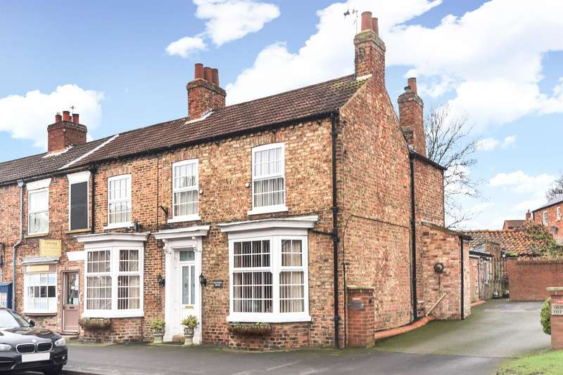 3 Bedrooms End Of Terrace House for sale in Spring Street, Easingwold, York, YO61 3BN