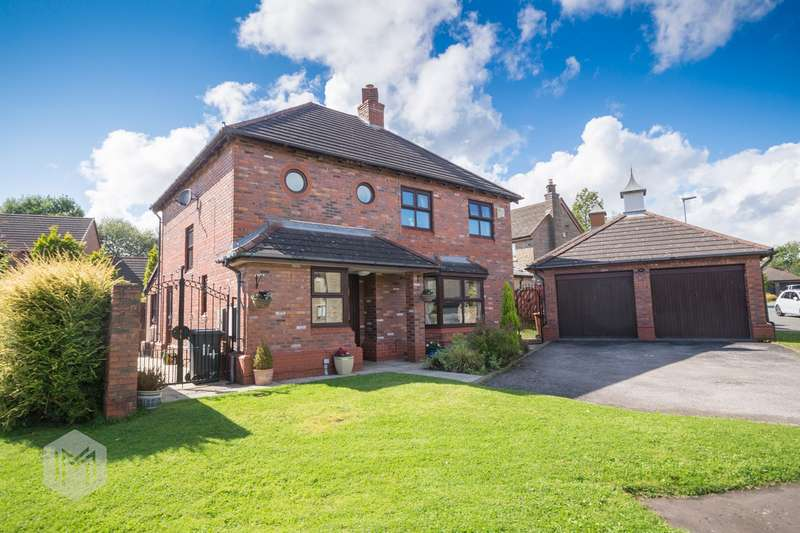 4 Bedrooms Detached House for sale in Crown Gardens, Turton, Bolton, BL7