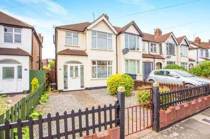 3 Bedrooms End Of Terrace House for sale in Barmouth Avenue, Perivale, Greenford