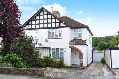 3 Bedrooms Semi Detached House for sale in Queensway, West Wickham