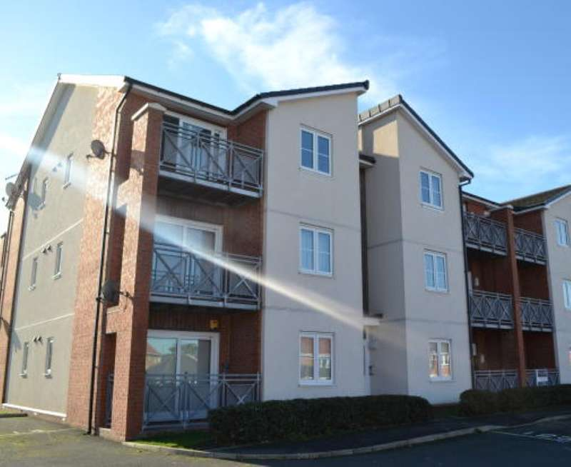 1 Bedroom Apartment Flat for sale in Clough Close, Middlesbrough, Cleveland, TS5 5EU