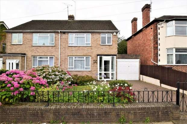 3 Bedrooms Semi Detached House for sale in Pinewood Road, Spinney Hill, NORTHAMPTON