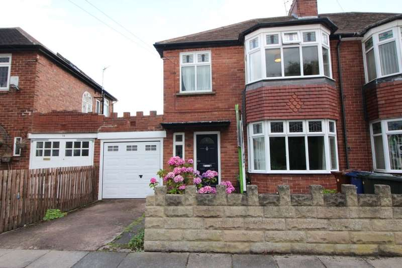 3 Bedrooms Semi Detached House for sale in Hunters Road, Gosforth, Newcastle Upon Tyne, NE3