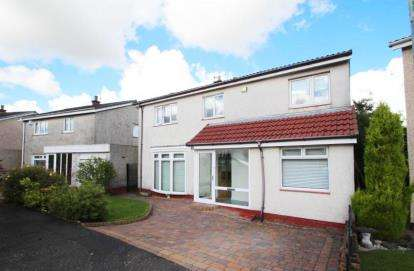 4 Bedrooms Detached House for sale in Windsor Drive, Glenmavis, Airdrie, North Lanarkshire