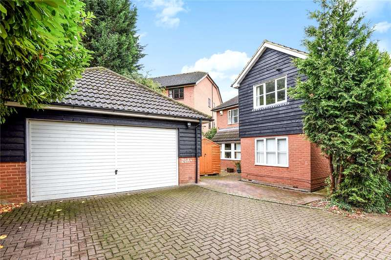 5 Bedrooms Detached House for sale in Cherrydale, Watford, Hertfordshire, WD18