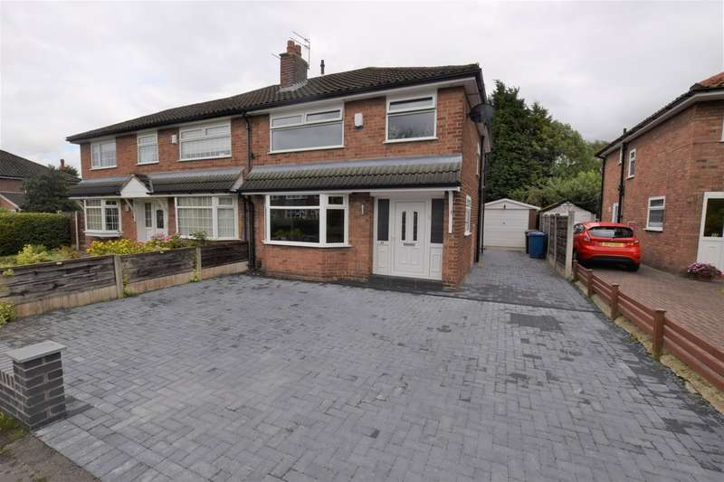 3 Bedrooms Semi Detached House for sale in Radnormere Drive, Cheadle Hulme