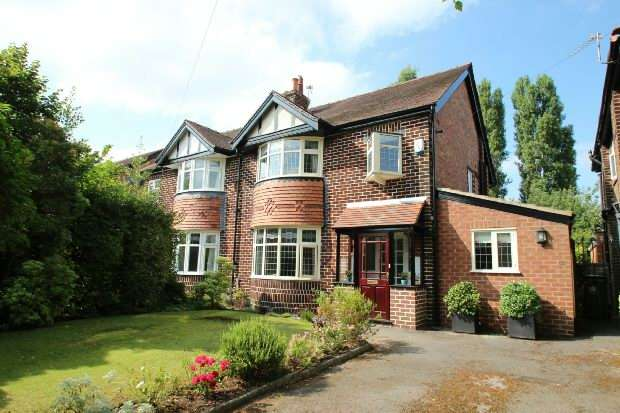 4 Bedrooms Semi Detached House for sale in Ridgeway Road, Timperley