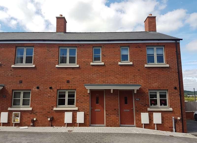 2 Bedrooms Terraced House for sale in Lon Y Grug , Llandarcy, Neath, Neath Port Talbot. SA10