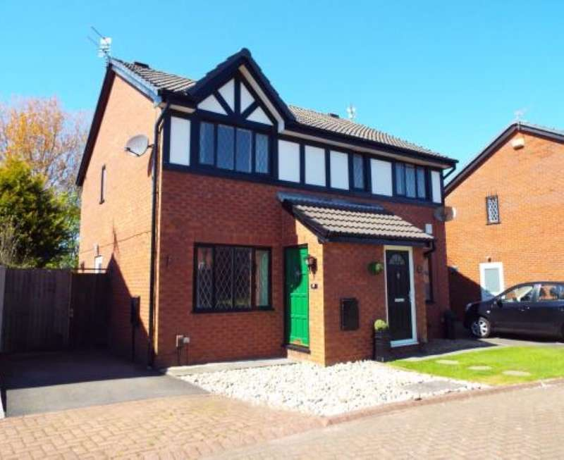 2 Bedrooms Semi Detached House for sale in Strathyre Close, Blackpool, Lancashire, FY2 0YB